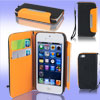 Black Faux Leather Magnetic Protective Case Cover Pouch for Apple...