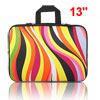 "13"" 13.3"" Colorful Stripe Notebook Laptop Sleeve Handle Bag Case ..."