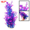 "15.7"" High Blue Purple Aquarium Aquascaping Simulation Aquatic Pl..."