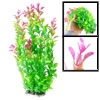 "13.8"" Length Green Fuchsia Aquarium Fish Tank Simulation Decorati..."