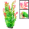 "13.8"" Length Green Pink Aquarium Aquascaping Simulation Decorativ..."