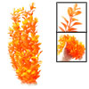 "13.8"" Length Orange Aquarium Simulation Plastic Decorative Plant ..."