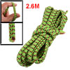 Green Red Elastic Bands 2.6M 8.5Ft Length for Trousers