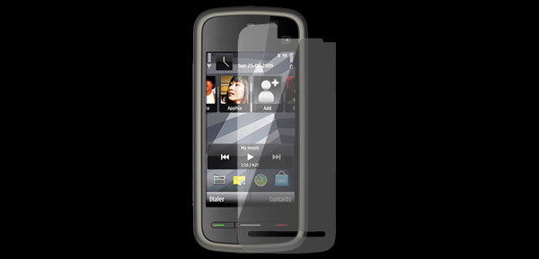 Clear Plastic Screen Film Guard Shield Protector for Nokia 5800 5230