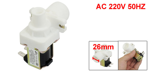 AC 220V 50HZ 2 Pins 2P Washing Machine Solenoid Valve FCD-90A