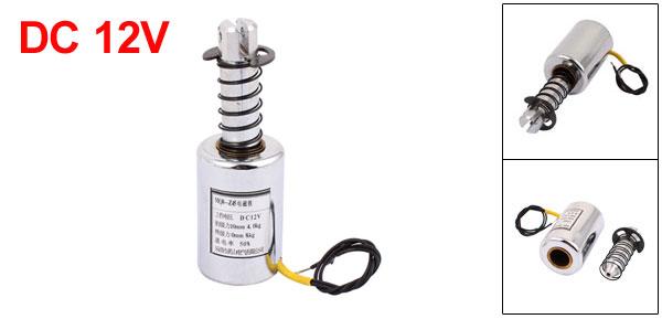 MQ8-Z45 DC 12V 10mm 4-8Kg Motion Cirect Current Solenoid Electromagnet