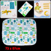 Baby Travel Home Cartoon Rabbit Pattern Waterproof Changing Mat P...
