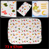 Baby Home Cartoon Ducks Pattern Waterproof Changing Urine Mat Pad Off White