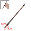 Brown Soft Head Bamboo Shaft Chinese Writing Brush Tool 25cm Long