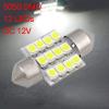 31mm White 12 SMD DE3175 DE3022 LED Festoon Dome Lights Internal Lamp for Car