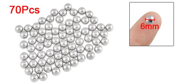 Bike Wheel Bearing Steel Balls Replacements 6.4mm Diameter 70 Pieces