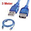 PC Computer 3 Meters Long USB 2.0 A Type Male to Female Entension...