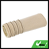 Universal Car Antislip Hand Brake Handle Cover Pad Beige