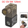 Black Electrical Pneumatic Control Air Solenoid Valve Coil DC 12V...