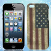 Retro Style US American National Flag IMD Hard Case Back Cover fo...