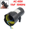 CBB60 15uF AC 450V Polypropylene Film Motor Run Capacitor for Washer