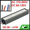 DC 85-120V 300mA (25-36)x1W LED Driver 25W-36W Waterproof Outdoor...