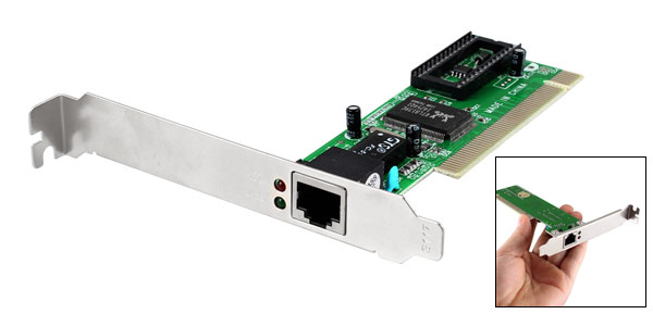RJ45 Port PCI Ethernet LAN Adapter Card for Computer