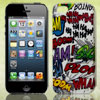Colorful Ha Ha Boom Doodle Hard Back Case Cover for Apple iPhone ...