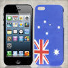US USA American Flag Star Blue Hard Back Case Cover for Apple iPh...