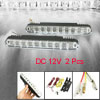 2Pcs Car 20 LED DRL Driving Daytime Running Day Light Fog Light W...