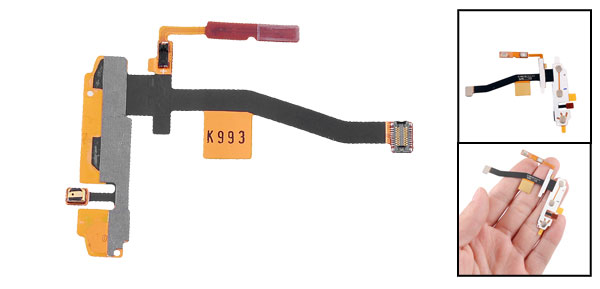 KeyBoard Keypad Sensor Touch Flex Cable for Samsung Omnia II I8000