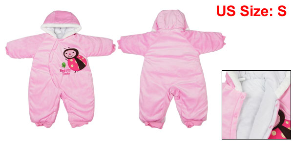 Toddler Baby 6-9 Months Gap One Piece Jumpsuit Bodysuit Winter Outfit Pink