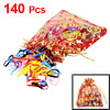 Assorted Color Stretchy Hair Rubber Band Pony Tail Holder 140 Pcs...
