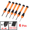 Clocks Watches Repairing Tools Orange Black Slotted Philips Screw...