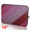 "Bubble 14"" 14.1"" 14.4"" Neoprene Notebook Laptop Sleeve Bag Case f..."
