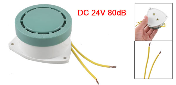 HRB-N80 Industrial Electric Flush Mounting Alarm Panel Buzzer DC 24V 80dB