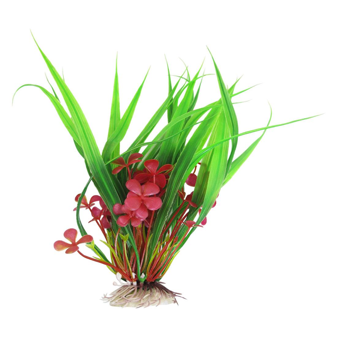 9-4-High-Red-Green-Simulation-Fish-Tank-Aquarium-Plastic-Plants-Landscaping
