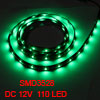Car Auto DC 12V Green 1210 3528 SMD 110-LED Strip Light Lamp 120cm