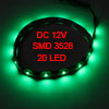 Car Auto DC 12V Green 1210 3528 SMD 20-LED Strip Light Lamp 30cm
