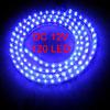Car Auto Flexible PVC Blue 120-LED Strip Light Lamp 120cm