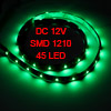 Car Auto DC 12V Green 1210 3528 SMD 45-LED Strip Light Lamp 60cm