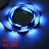 Car Auto DC 12V Blue 5050 SMD 60-LED Strip Light Lamp 120cm