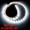 Car Auto DC 12V White 1210 3528 SMD 45 LEDs Strip Light Lamp 45cm