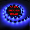 Car Auto DC 12V Blue 1210 3528 SMD 60-LED Strip Light Lamp 90cm