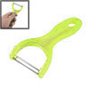 Clear Green Plastic Grip Serrated Cutting Part Pears Apples Veget...