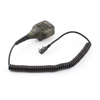 Handheld Speaker Mic Microphone 2 Pole Connector Army Green for Kenwood Car Radio