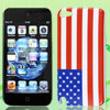 New Style US USA American National Flag Hard Back Case Cover for iPod Touch 5 5G