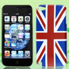 United Kingdom UK National Flag Hard Back Case Cover for Apple iPod Touch 5 5G