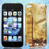 Vintage Style London Bus Big Ben Hard Back Case Cover for Apple iPod Touch 5 5G