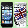 Union Jack UK Flag Letters Pattern Hard Back Case Cover for iPod Touch 5 5G 5th