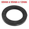 65mm x 95mm x 12mm Metric Double Lipped Rotary Shaft Oil Seal TC