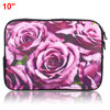 "Rose Flowers 10"" 10.1"" 10.2"" Neoprene Notebook Laptop Sleeve Bag ..."