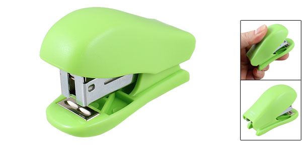 Swingline Light Duty 15 Sheet Capacity Green Plastic Stapler