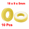 10 Pcs 18mm x 9mm x 5mm Yellow White Iron Core Power Inductor Fer...