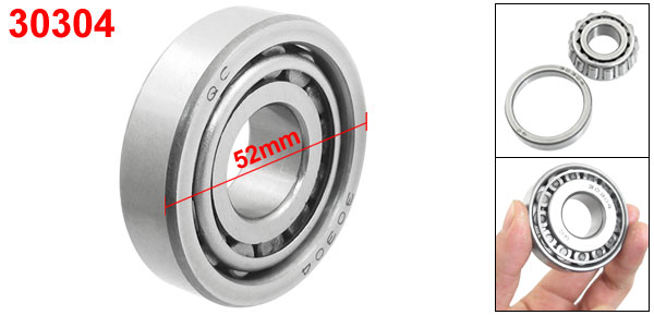 30304 Steering Head Set Tapered Roller Bearings 20mm x 52mm x 16mm